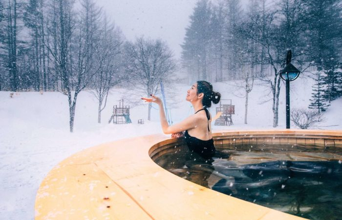 Outdoor Canadian Heated Bath