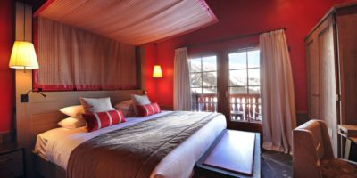 Valmorel Chalet - bedroom