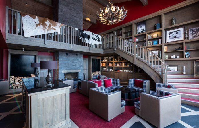 Valmorel Chalet - lounge