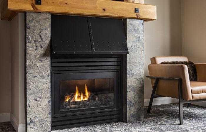 Westin Suite Fireplace